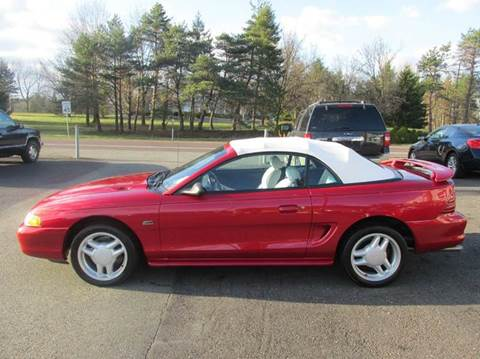 1994 Ford Mustang for sale at GEG Automotive in Gilbertsville PA