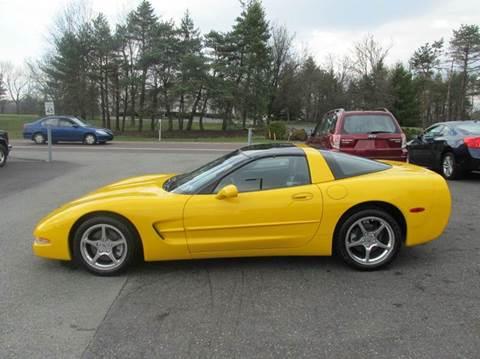 2002 Chevrolet Corvette for sale at GEG Automotive in Gilbertsville PA