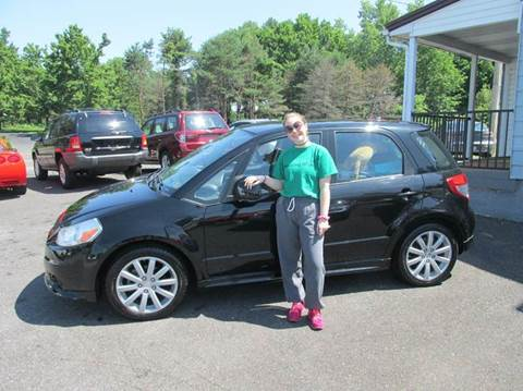 2011 Suzuki SX4 Sportback for sale at GEG Automotive in Gilbertsville PA