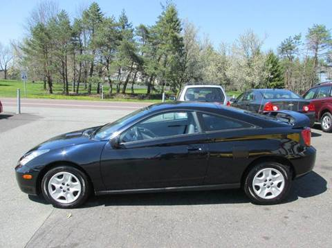 2002 Toyota Celica for sale at GEG Automotive in Gilbertsville PA