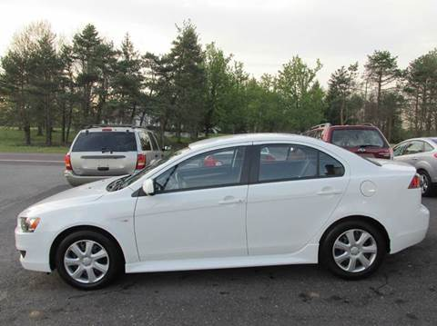 2013 Mitsubishi Lancer for sale at GEG Automotive in Gilbertsville PA