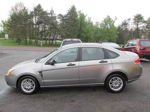 2008 Ford Focus for sale at GEG Automotive in Gilbertsville PA