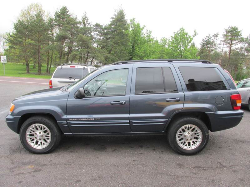2002 Jeep Grand Cherokee Limited 4WD 4dr SUV W/HO V8   Gilbertsville PA