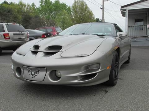2002 Pontiac Firebird for sale at GEG Automotive in Gilbertsville PA