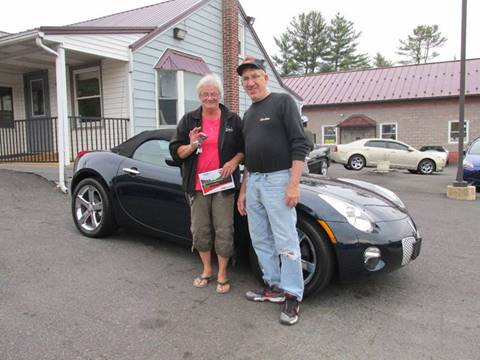 2007 Pontiac Solstice for sale at GEG Automotive in Gilbertsville PA