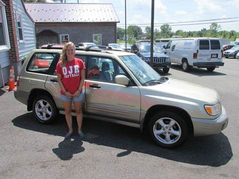 2001 Subaru Forester for sale at GEG Automotive in Gilbertsville PA