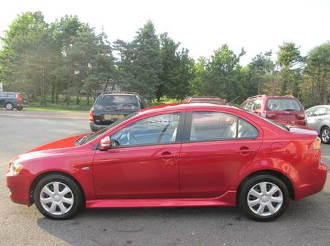 2015 Mitsubishi Lancer for sale at GEG Automotive in Gilbertsville PA