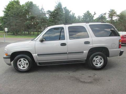 2004 Chevrolet Tahoe for sale at GEG Automotive in Gilbertsville PA