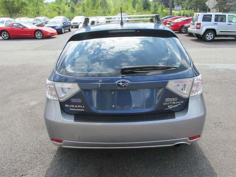 2011 Subaru Impreza Outback Sport Awd 4dr Wagon 4a In Gilbertsville