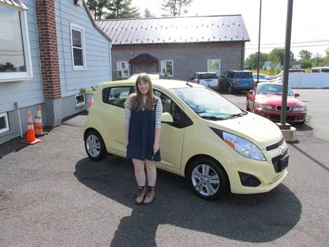 2014 Chevrolet Spark for sale at GEG Automotive in Gilbertsville PA