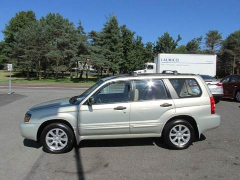2005 Subaru Forester for sale at GEG Automotive in Gilbertsville PA