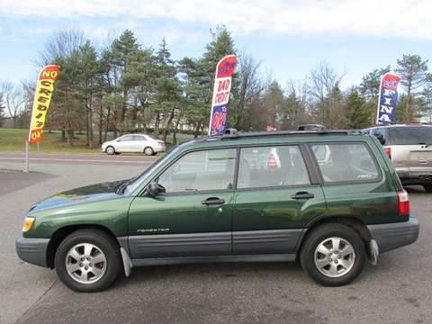 2002 Subaru Forester for sale at GEG Automotive in Gilbertsville PA