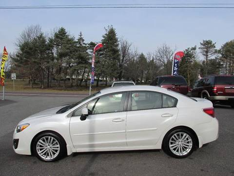 2012 Subaru Impreza for sale at GEG Automotive in Gilbertsville PA