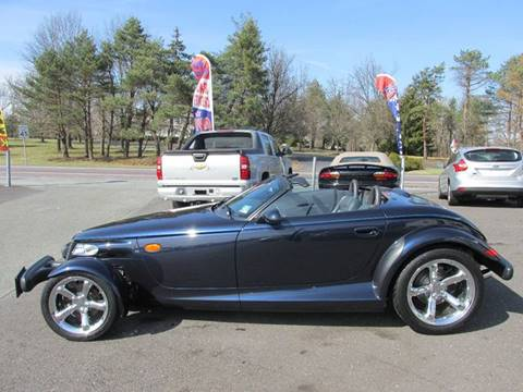 2001 Chrysler Prowler for sale at GEG Automotive in Gilbertsville PA