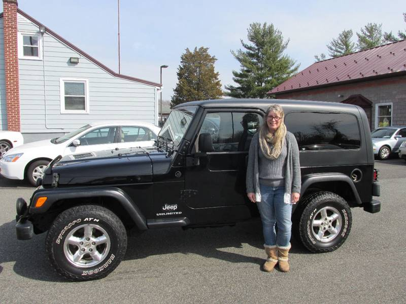 2004 Jeep Wrangler Unlimited 4WD 2dr SUV   Gilbertsville PA