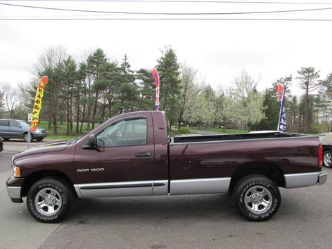2005 Dodge Ram Pickup 1500 for sale at GEG Automotive in Gilbertsville PA