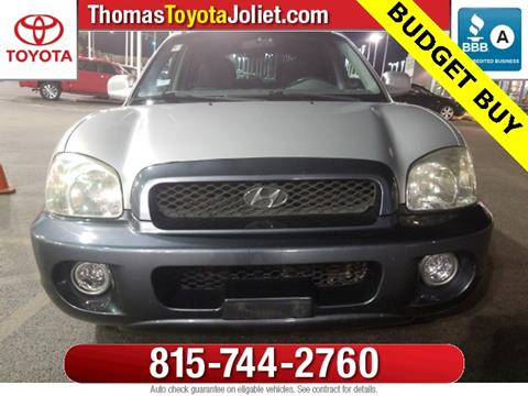 2003 Hyundai Santa Fe for sale in Joliet, IL