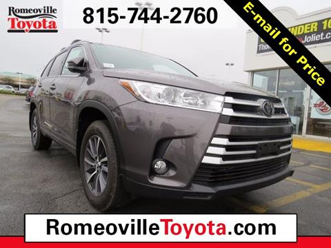 2018 Toyota Highlander for sale in Joliet, IL