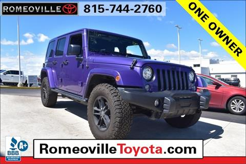 2017 Jeep Wrangler Unlimited for sale in Joliet, IL