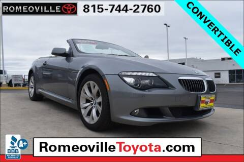 2010 BMW 6 Series 650i for sale at Romeoville Toyota in Romeoville IL