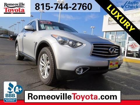 2015 Infiniti QX70 for sale in Joliet, IL