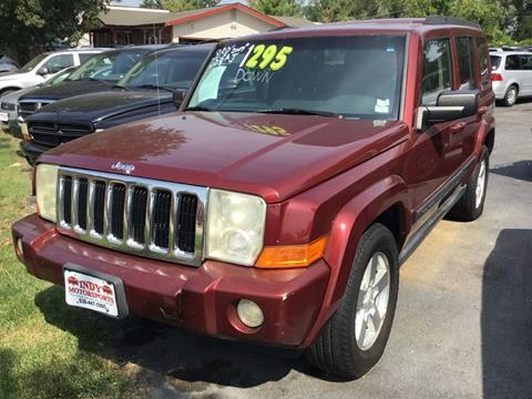 2007 Jeep Commander for sale at Indy Motorsports in St. Charles MO