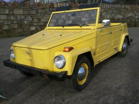 1973 Volkswagen Thing for sale at Beverly Farms Motors in Beverly MA