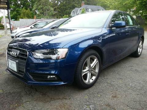2013 Audi A4 for sale at Beverly Farms Motors in Beverly MA