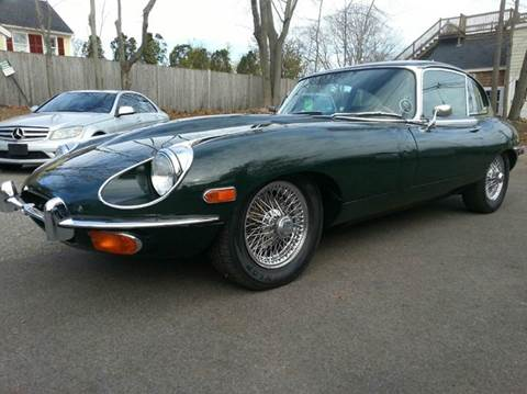1969 Jaguar E-Type for sale at Beverly Farms Motors in Beverly MA