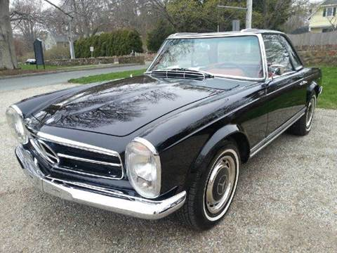 1967 Mercedes-Benz SL-Class for sale at Beverly Farms Motors in Beverly MA