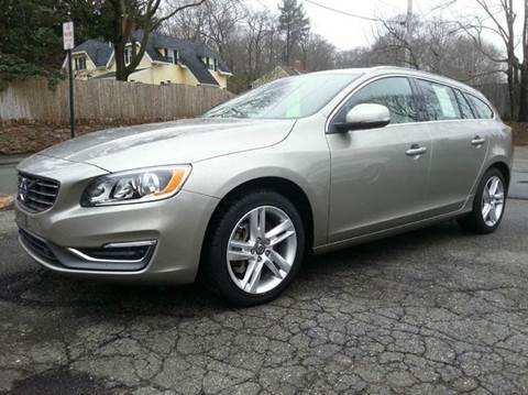 2015 Volvo V60 for sale at Beverly Farms Motors in Beverly MA