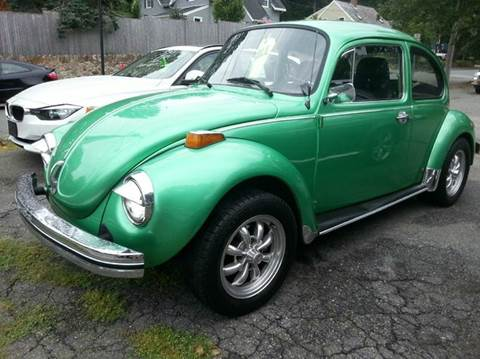 1974 Volkswagen Beetle for sale at Beverly Farms Motors in Beverly MA