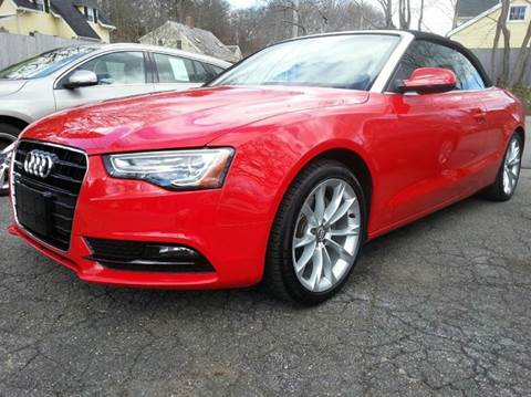 2013 Audi A5 for sale at Beverly Farms Motors in Beverly MA