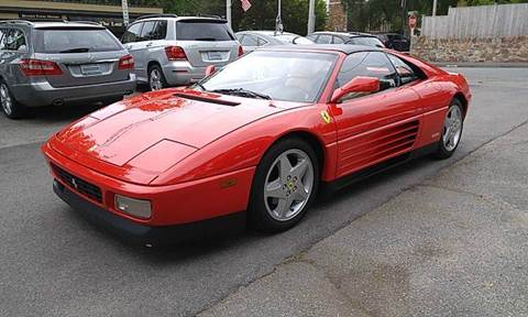 1992 Ferrari 348 TS for sale at Beverly Farms Motors in Beverly MA
