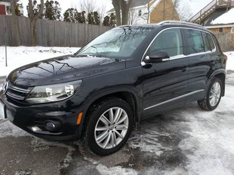 2015 Volkswagen Tiguan for sale at Beverly Farms Motors in Beverly MA