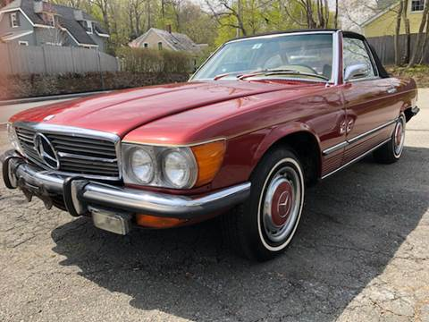 1972 Mercedes-Benz 450 SL for sale at Beverly Farms Motors in Beverly MA