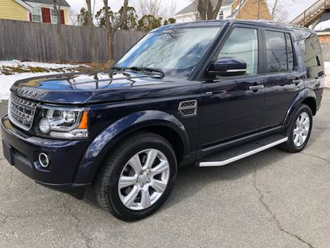 2016 Land Rover LR4 for sale at Beverly Farms Motors in Beverly MA