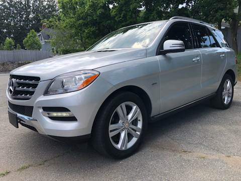 2012 Mercedes-Benz M-Class for sale at Beverly Farms Motors in Beverly MA