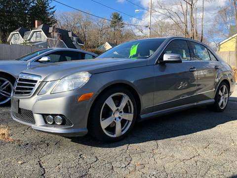 2010 Mercedes-Benz E-Class for sale at Beverly Farms Motors in Beverly MA