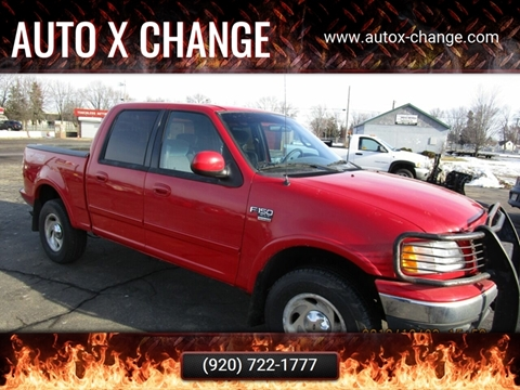 2001 Ford F-150 for sale at Auto X Change in Menasha WI