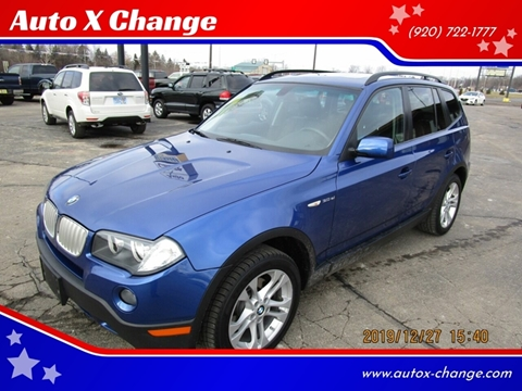 2007 BMW X3 for sale at Auto X Change in Menasha WI