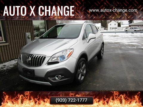 2014 Buick Encore for sale at Auto X Change in Menasha WI