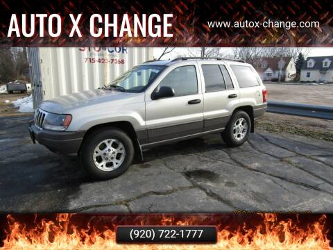 2003 Jeep Grand Cherokee for sale at Auto X Change in Menasha WI