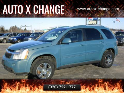 2008 Chevrolet Equinox for sale at Auto X Change in Menasha WI