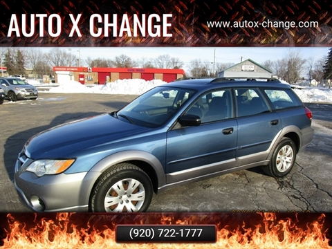 2008 Subaru Outback for sale at Auto X Change in Menasha WI