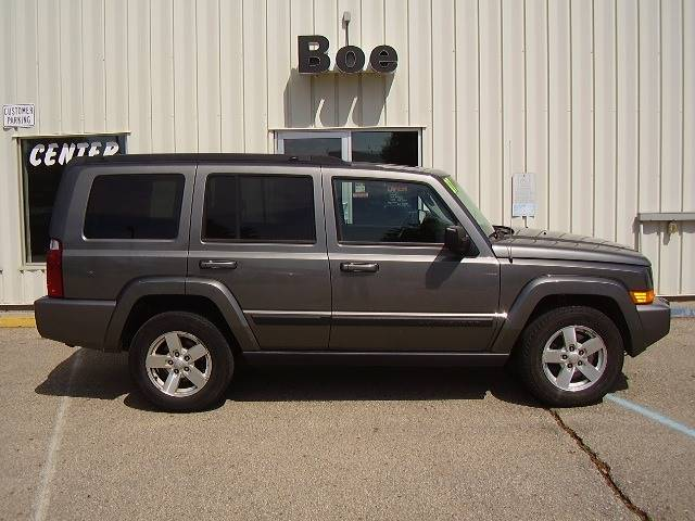 2007 Jeep Commander For Sale At Boe Auto Center In West Concord MN