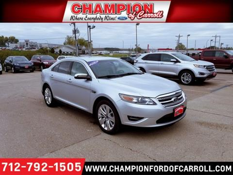 2010 Ford Taurus for sale in Carroll, IA