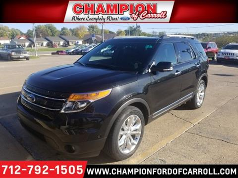 2015 Ford Explorer for sale in Carroll, IA