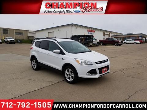 2015 Ford Escape for sale in Carroll, IA