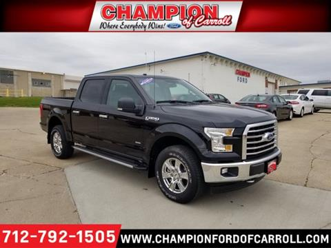 2017 Ford F-150 for sale in Carroll, IA